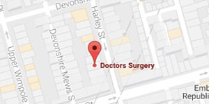 Foresight Private Harley Street Medical Centre Map