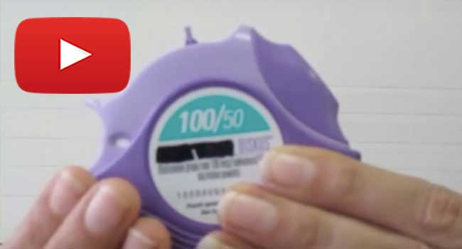 How to use a Diskus inhaler